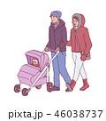 ウィンター ウインター 冬のイラスト 46038737