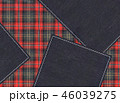チェック チェック模様 模様のイラスト 46039275