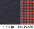 チェック チェック模様 模様のイラスト 46039286