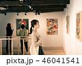 女性 ギャラリー 美術館の写真 46041541