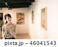 女性 ギャラリー 美術館の写真 46041543