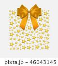 バックグラウンド 背景 クリスマスのイラスト 46043145