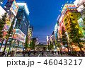 《東京都》秋葉原の夜景・歩行者天国 46043217