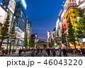 《東京都》秋葉原の夜景・歩行者天国 46043220