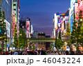 《東京都》秋葉原の夜景・歩行者天国 46043224