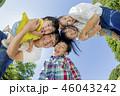 人物 家族 ファミリーの写真 46043242