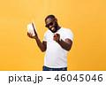 アフリカ人 男 男性の写真 46045046