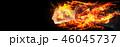 火 炎 燃えるのイラスト 46045737