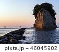見附島 海 軍艦島の写真 46045902