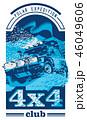 ロゴ オフ ロードのイラスト 46049606