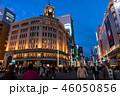 《東京都》銀座の夜景・歩行者天国 46050856