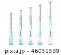 注射器 注射 薬瓶のイラスト 46051599