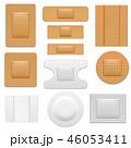 立体 3D 3Dのイラスト 46053411