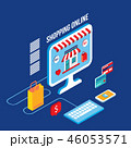ビジネス 商売 Eコマースのイラスト 46053571