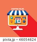 ビジネス 商売 Eコマースのイラスト 46054624