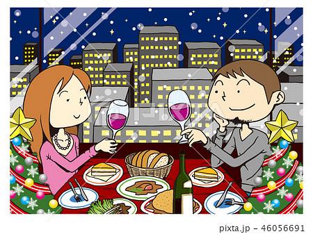 クリスマスディナー 46056691