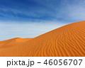 Big sand dunes in desert 46056707