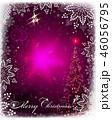 あいさつ グリーティング クリスマスのイラスト 46056795