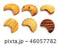クラッカー クッキー ベクタのイラスト 46057782