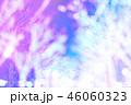 青色のキラキラ輝き電飾背景素材 46060323