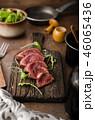 Homemade Beef Steak rare 46065436
