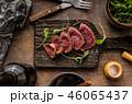 Homemade Beef Steak rare 46065437