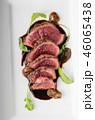 Homemade Beef Steak rare 46065438
