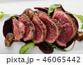 Homemade Beef Steak rare 46065442