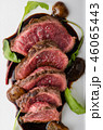 Homemade Beef Steak rare 46065443