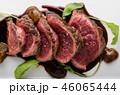Homemade Beef Steak rare 46065444