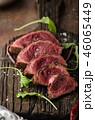 Homemade Beef Steak rare 46065449