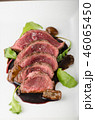 Homemade Beef Steak rare 46065450