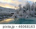 青い池と霧氷 46068163