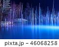 青い池ライトアップ 46068258