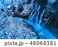 青い川と白鬚の滝 46068381