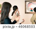 女性 ギャラリー 美術館の写真 46068503