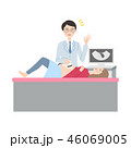 検診を受ける女性。 46069005