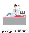 検診を受ける女性。 46069006