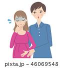 妊婦の心配をする男性。 46069548