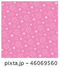 桜 ピンク 背景のイラスト 46069560