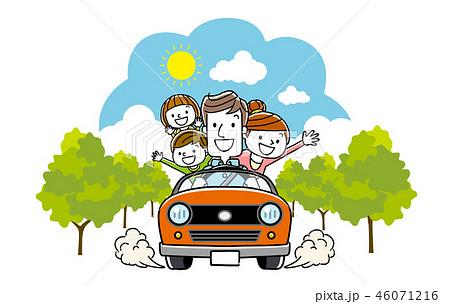 家族でドライブ 46071216