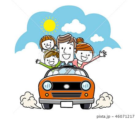 家族でドライブ 46071217