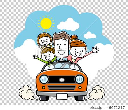 和家人一起開車 46071217