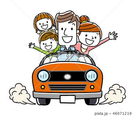 家族でドライブ 46071219
