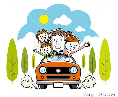 家族でドライブ 46071224