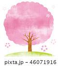 桜 桜の木 木のイラスト 46071916