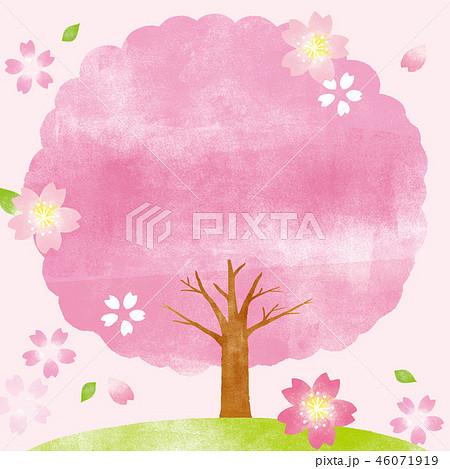 木 イラスト 桜の
