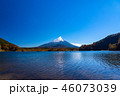 富士山 精進湖 秋の写真 46073039
