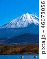 富士山 精進湖 秋の写真 46073056