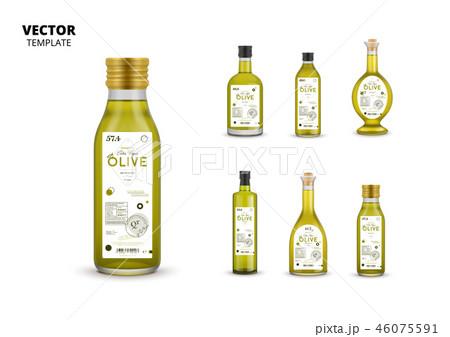 Extra virgin olive oil canned glass bottles 46075591